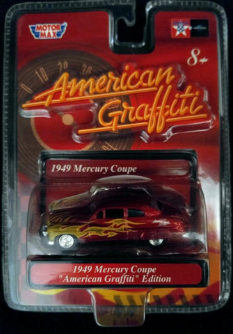 Motor Max 1/64th scale American Graffiti 1949 Mercury Coupe