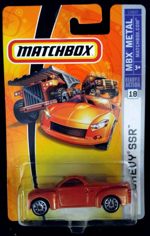 Matchbox #18 Chevy SSR Orange