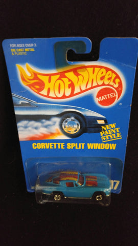 Hot Wheels 63 Corvette Split Window Black Tire Variation