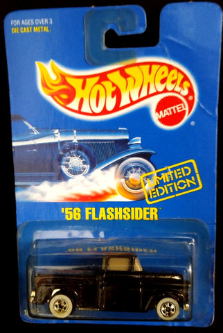Hot Wheels 1991 '56 Flashsider Limited Edition Black