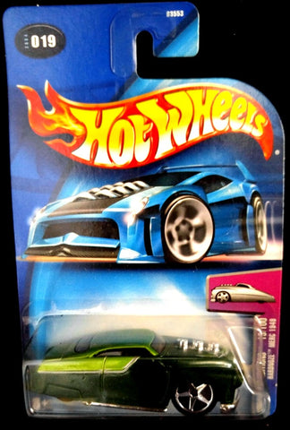 Hot Wheels 2004 #19 Hardnose 1949 Merc Green
