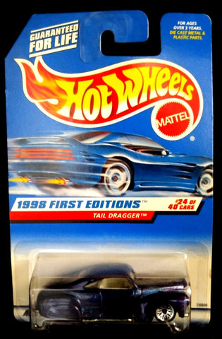 Hot Wheels Tail Dragger 1998 First Editions Purple