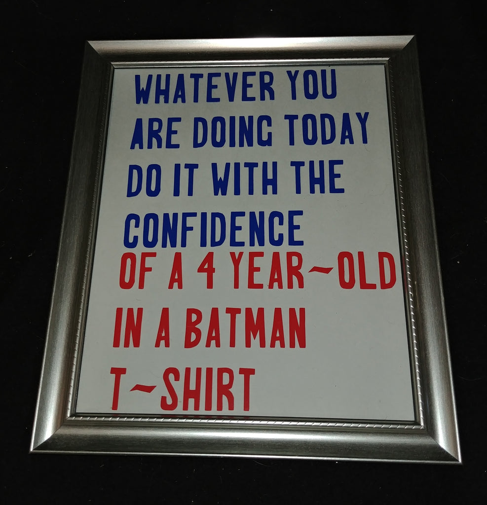 Framed Message - Batman