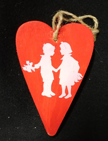 Valentine's Day Young Love Ornament