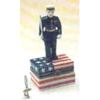 Marine Trinket Box