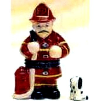 Fireman and Dalmation Trinket Box
