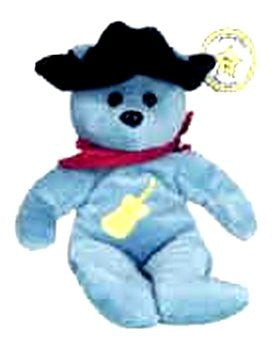 Star # 3 Male Country Singer Bear - Reminds Me Of Garth Brooks Or Any Country Singer!
