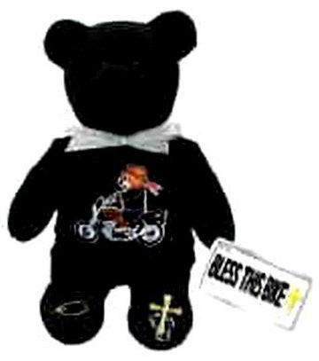 Biker Motorcycle Holy Bear