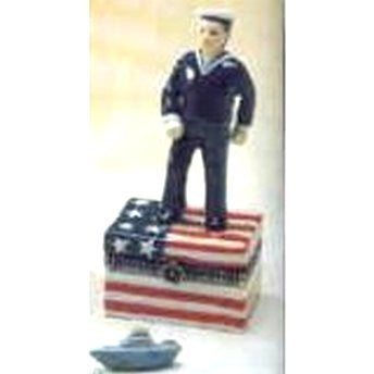 Navy Man Trinket Box