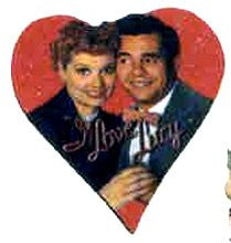 Lucy And Desi Chunky Magnet