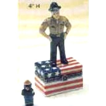 Drill Sergeant or Park Ranger Trinket Box
