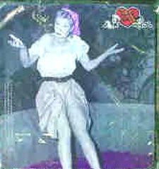 I Love Lucy Grape Stomping Mousepad