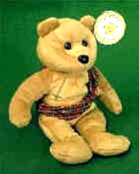 STAR # 5 Brave Scottish Bear - Reminds Me Of Mel Gibson In Braveheart