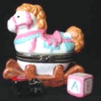 Rocking Horse for Baby's Room Trinket Box