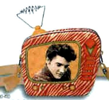 Elvis Mini Tin T.V. Tote With Shoulder Strap