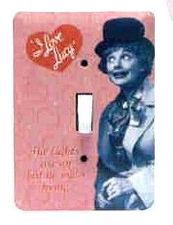 I Love Lucy Harpo Switchplate Cover