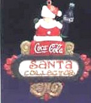 Coca Cola SANTA Collector Ornament