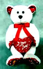 I Love Lucy Cupid Bear - Only 1500 Produced!