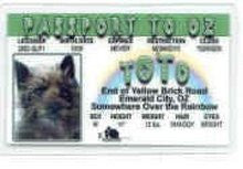 Toto From Wizard Of Oz License
