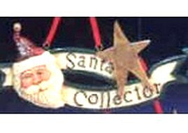 Santa Collector Ornament