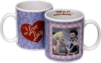 Lucy Forever Friends Mug- Pink And Purple