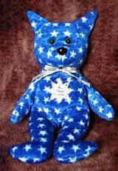 Star # 68 Trekie Bear - Reminds Me Of Dr. Spock From Star Trek