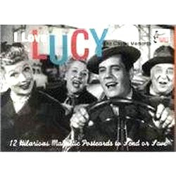 I Love Lucy Magnetic Postcard Book