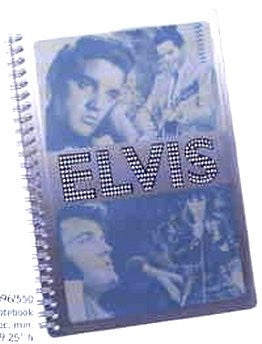 Elvis Tin Notebook