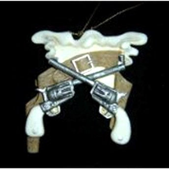 Western Guns and Holster Ornament