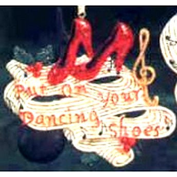 Put on your Dancin Shoes Ornament