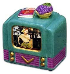 Lucy Grape Stomping TV Musical Box