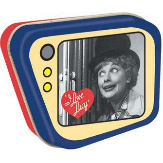 I Love Lucy Trapezoid Tin Box