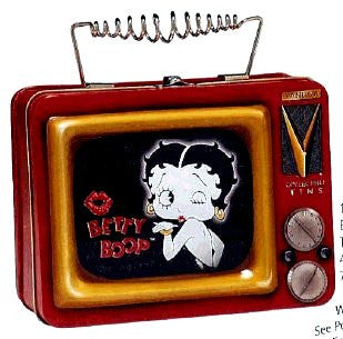 Betty Boop Blowing A Kiss T.V. Tote