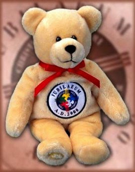 Jubilee Holy Bear 2000 - Retired