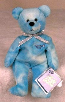 Precious, The Annunciation Holy Bear -BLUE
