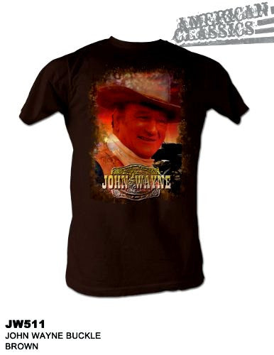 "John Wayne ""Buckle"" T Shirt"