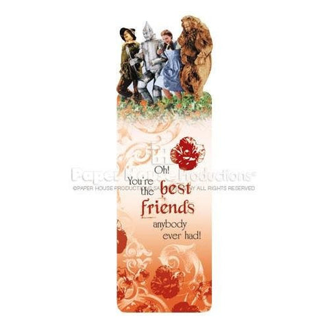 Poppy Field Glitter Bookmark