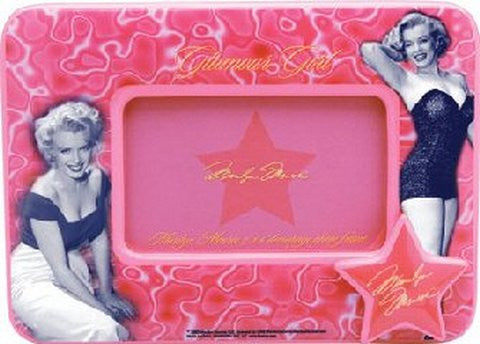 Marilyn 4 X 6 Decoupage Frame - Very Bright!
