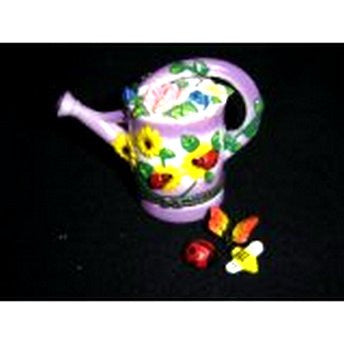 Gardening Flower Watering Can Trinket Box