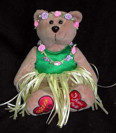 I Love Lucy Hawaiin Vacation Bear