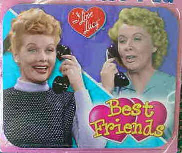 I Love Lucy Best Friends Mousepad
