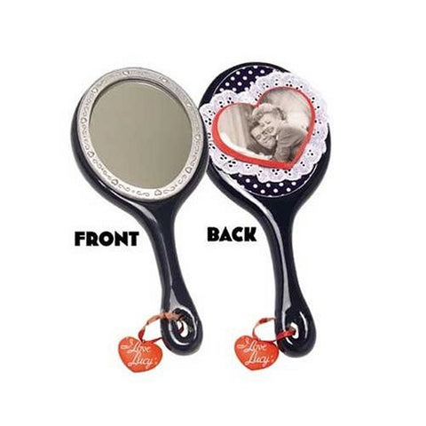 I Love Lucy Polka Dot Hand Mirror