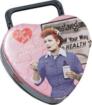 I Love Lucy Heart Tote