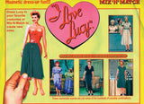 Lucy Mix And Match Magnetic Paper Dolls