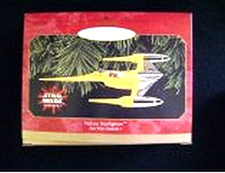 Naboo Starfighter Star Wars Hallmark Christmas Ornament