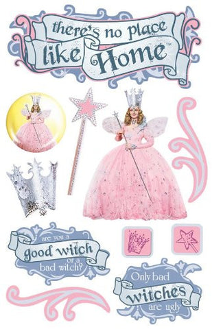 Oz-Glinda 3D Sticker