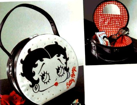 Betty Boop Round Purse Tote