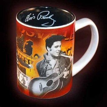 Elvis Career Mug