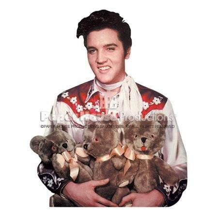 Elvis Notecard Teddy Bear