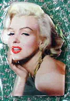 Marilyn Die Cut Magnet